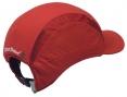 Čepice se skořepinou PROTECTOR FB3 CLASSIC zkrácený kšilt protažená do týla červená