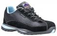 Obuv Steelite™ Safety Trainer S1 HRO dámská polobotka černá/světle modrá velikost 38