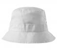 Klobouček MALFINI Classic bavlna broušený kepr obšité větrací otvory začištěné švy zesílená obruba bílý