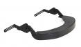Držák štítu Hellberg EPOK SAFE2 Flex nylonový včetně těsnění na přilbu se šikmým kšiltem černý