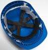 Hlavový kříž pro ochrannu průmyslovou přilbu PROTECTOR 600 terylene černý froté pásek