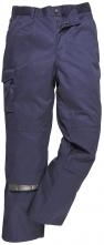 Kalhoty MULTIPOCKET polyester/bavlna do pasu 3 šití tmavě modré velikost M
