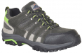 Obuv PW Steelite™ Ultra Loire Low Cut Trainer S1P HRO polobotka semišová kůže s textilem šedo/zelená
