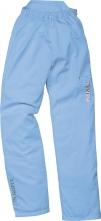 Kalhoty Mach Lady SOPHIA lehké pružný pas dámské světle modré velikost 50/52