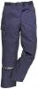 Kalhoty MULTIPOCKET polyester/bavlna do pasu 3 šití tmavě modré velikost XXL