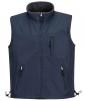 Vesta PW RS Ripstop PES/fleece nepromokavý zátěr z PVC oboustranná vodě a větru odolná tmavě modrá