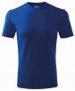 Tričko Classic 160 bavlna kulatý průkrčník trup beze švu středně modré