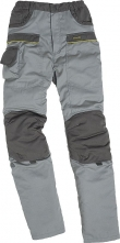 Kalhoty MACH CORPORATE do pasu světle šedá/tmavě šedé velikost XXXL