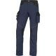 Montérkové kalhoty DELTA MACH CORPORATE NEW do pasu PES/BA tmavě modré/černé