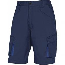 Montérkové kraťasy Bermuda MACH 2 PES/BA šikmé kapsy tmavě modré velikost XL