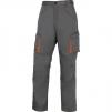 Montérkové kalhoty MACH 2 do pasu šedé velikost XXL