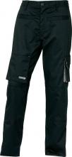 Montérkové kalhoty MACH 2 do pasu černé velikost XXXL
