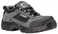 Obuv Compositelite Trekker S1 polobotka semišová šedo/černá velikost 45
