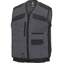 Pracovní vesta MACH 5 SPIRIT nové provedení s kapsami šedá/černá velikost L