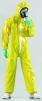 Kombinéza HONEYWELL SPACEL 3000 EBJ typ 5 + 6 elastický okraj kapuce a zápěstí a kotníků žlutá