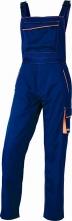 Montérkové kalhoty DELTA PLUS MACH 6 PANOSTYLE s laclem PES/bavlna rovný střih pruženka v pase a na šlích modro/červené