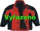 Bunda ALBATROS zateplená sportovní střih červeno/černá velikost XXL