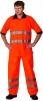 Polokošile AVALON piqué reflexní oranžová velikost XXL