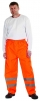 Kalhoty GORDON do pasu polyester potažený PU nepromokavé oranžové velikost XL