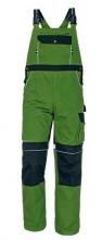 Montérkové kalhoty CERVA STANMORE laclové středně zelené/černé velikost 50