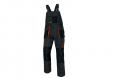 Montérkové kalhoty CERVA EMERTON s laclem PES/BA zesílená kolena množství kapes černo/šedo/oranžové