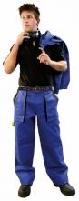 Montérkové kalhoty CXS LUXY JOSEF do pasu modro/černé