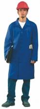 Pracovní plášť CXS VENCA tříčtvrteční délka s kapsami středně modrý