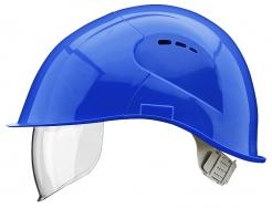 Přilba VOSS VISOR LIGHT ochrana týlu PC zorník modrá
