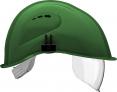 Přilba VOSS VISOR LIGHT ochrana týlu PC zorník zelená