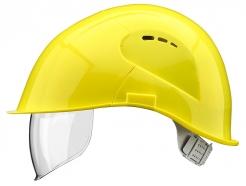 Přilba VOSS VISOR LIGHT ochrana týlu PC zorník žlutá