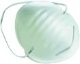 Rouška CERVA MANLY 1085 proti hrubému prachu kovová spona na nose upínací gumička bílá