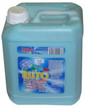 Mycí emulze RUTO na silně znečištěné ruce plastový kanystr 7 kg světle modrá
