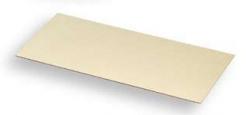 Zorník TEMPEX polykarbonátový pružný 100 x 220 mm do kukly pozlacený