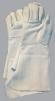 Rukavice celokožené HINA CZ hovězí štípenka dlouhá manžeta šedé