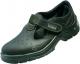 Obuv PANDA STRONG TOPOLINO S1 SRC sandál s větracími otvory kožený svršek protiskuzná podrážka bezpečnostní špice černá