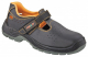 Obuv ARDON FIRSAN O1 kožené pracovní sandále s větracími otvory kožený svršek protiskuzná podrážka černá