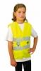 Vesta TEDDY dětská výstražná reflexní pásky žlutá velikost XS