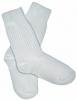 Ponožky tenké bavlna/polyamid bílé velikost 43-45