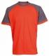 Tričko OLIVER ORION bavlna 180g oranžovo/šedé velikost L