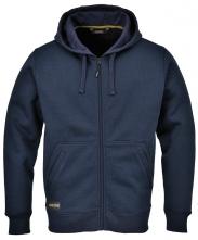 Mikina klokanka NICKEL zateplená kapuce tmavě modrá velikost XL