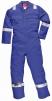 Kombinéza Bizweld Iona FR BA 330g svářečská třída 1 ochrana proti plameni reflexní pruhy středně modrá