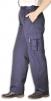 Kalhoty PW COMBAT LADY dámské do pasu s kapsami PES/BA částečně elastický pas tmavě modré