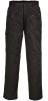 Kalhoty Action do pasu zateplené zesílené černé velikost M