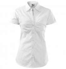 Halenka Chic dámská krátký rukáv bílá velikost XL