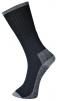 Ponožky pracovní akryl/nylon/PES balení 3 páry černé velikost 39 - 43