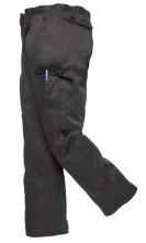 """Kalhoty COMBAT pánské do pasu s kapsami černé velikost 40"""" - XL"""
