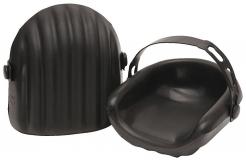 Nákoleník HIGH DENSITY voděodolný vroubkovaný pásek černý