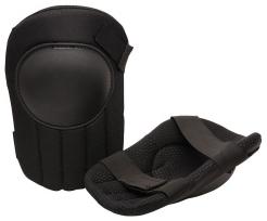Nákoleníky odlehčené textilní polstrované pěnovým plastem černé