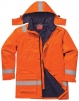 Bunda BIZFLAME PLUS antistatická zateplená nehořlavá oranžová velikost XL