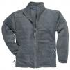Mikina ARGYL HEAVY fleece zapínání na zip šedá velikost M